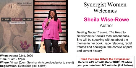 Sheila Wise Rowe Speaks on Race & Healing - Virtual Event tickets