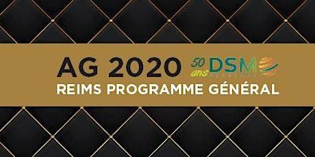 Assemblée Générale DSM 2020 & 50 ans de l'association billets
