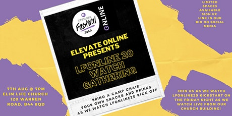 Elevate Summer Online: Limitless Festival 2020 Online Sign Up tickets