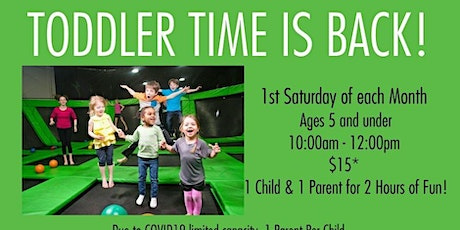 Toddler Time Launch Richmond Ticket for 9/5  from tickets