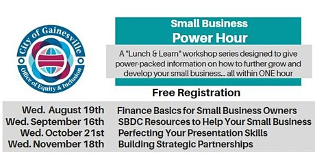 """""""Small Business Power Hour"""" tickets"""