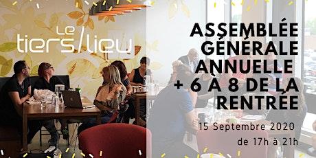 Assemblée générale annuelle + 6 à 8 de la rentrée billets
