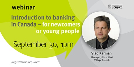 Introduction to banking in Canada for newcomers and young people tickets