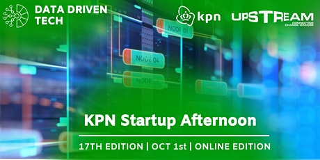 17th KPN Startup Afternoon x Up! Rotterdam   Data Driven Tech tickets