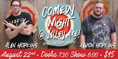 Comedy night @ Valley Axe tickets