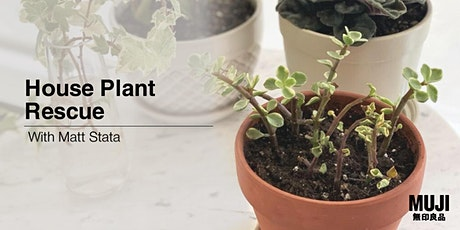House Plant Rescue with Matt Stata tickets