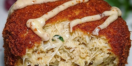 Crab Cakes at Blythewood Cigar and Wine lounge tickets