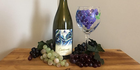 August Wine Glass Paint and Sip tickets