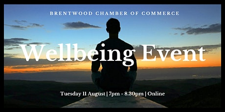 Wellbeing Evening with Networking tickets