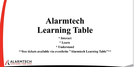 Alarmtech Learning Table - CPTED Residential tickets
