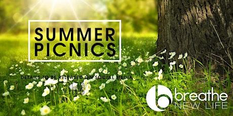 Breathe Summer Picnic & Communion 3 tickets