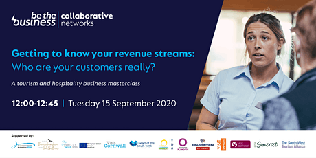 POSTPONED: Getting to know your revenue streams: Who are your customers? tickets