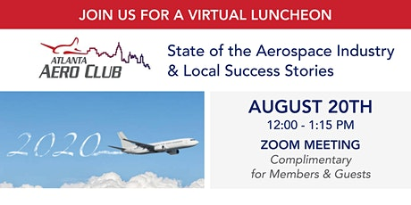 State of the Aerospace Industry & Local Success Stories tickets