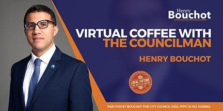 Coffee with the Councilman tickets