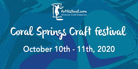 2nd Annual Coral Springs Craft Fair at The Walk tickets