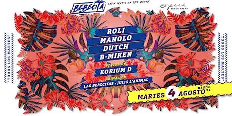 Bebecita Latin Music /Martedi 4 Agosto /Opera Beach biglietti