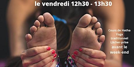 Cours de Yoga chaque vendredi - sur Skype 12h30-13h30 billets