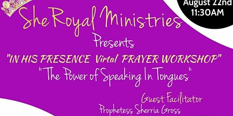 In His Presence: Prayer Workshop tickets