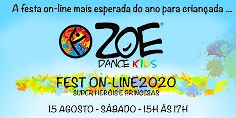 ZOE DANCE KIDS FEST -  On-Line 2020 entradas