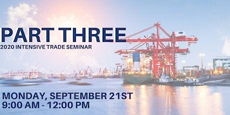 PART THREE - 9/21 - Morning Session -  2020 Virtual Intensive Trade Seminar tickets