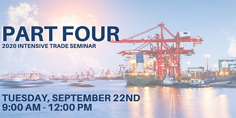 PART FOUR - 9/22 - Morning Session -  2020 Virtual Intensive Trade Seminar tickets