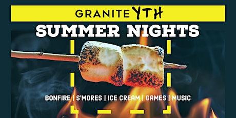 Granite YTH Summer Night tickets