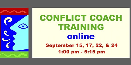 Conflict Coaching Training - Online - 4 sessions - September tickets