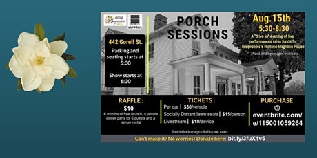 The Historic Magnolia House: Drive In & Live Stream Benefit Concert tickets