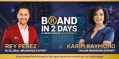 """Marca en 2 días """"El Mejor Entrenamiento de Marca Personal""""(Sept) ingressos"""