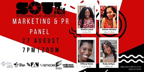 Marketing & PR Panel presented by S.O.U.L Film Festival Tickets
