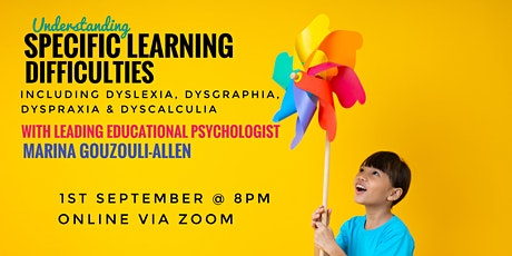Understanding Specific Learning Difficulties tickets