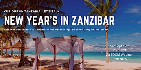 Let's Talk: NEW YEARS IN ZANZIBAR tickets