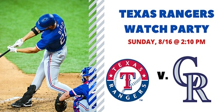 Rangers v. Rockies I Free Watch Party tickets
