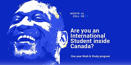 Are you an International Student in Canada? tickets