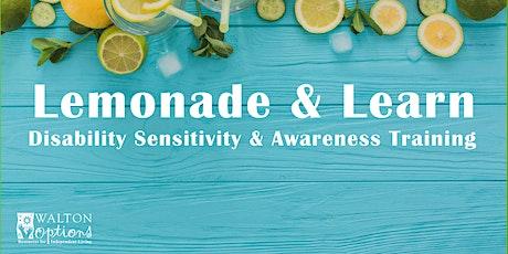 Lemonade & Learn – Disability Sensitivity Awareness Training tickets