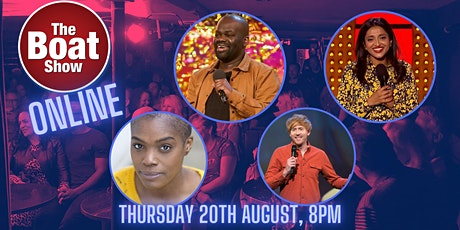 BOAT SHOW COMEDY CLUB ONLINE tickets
