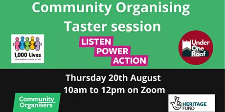 Community Organising taster workshop tickets