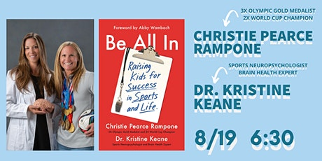 Meet Olympic Gold Medalist Christie Pearce Rampone and Dr. Kristine Keane! tickets