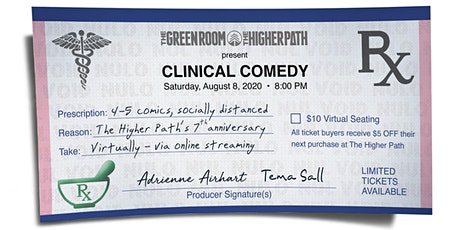 The Higher Path presents: Clinical Comedy - THP 7th Anniversary Edition tickets