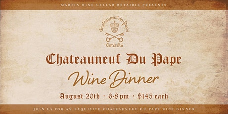 Chateauneuf Du Pape Wine Dinner tickets