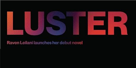 Luster Launch at Librairie Saint-Henri Books tickets