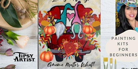 Love Fall Gnome Painting Tutorial with Traceable! tickets