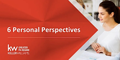 The 6 Personal Perspectives - Virtual! tickets