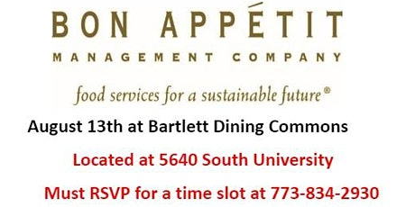 Bon Appetit - University of Chicago - Hiring Event tickets