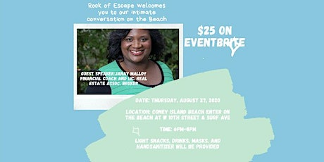 Join Rock of Escape for intimate conversations on the beach tickets