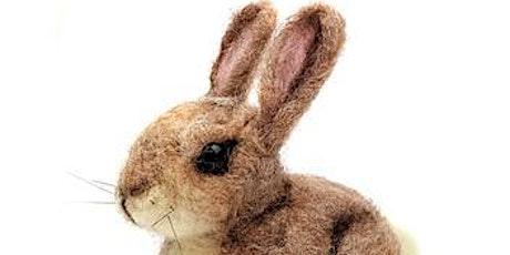 Needle felting workshop - create a delightful baby rabbit! tickets