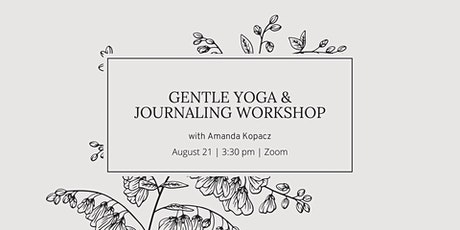 Gentle Yoga & Journaling Workshop tickets