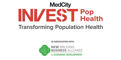 MedCity INVEST Population Health 2020 tickets