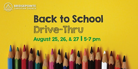 Back to School Drive-Thru:  Whiteknact and Hennessey tickets