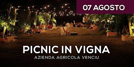 Picnic in Vigna 07 Agosto biglietti